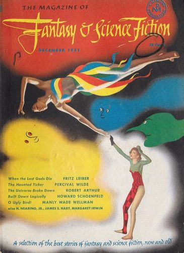 The Magazine of Fantasy and Science Fiction December 1951-small