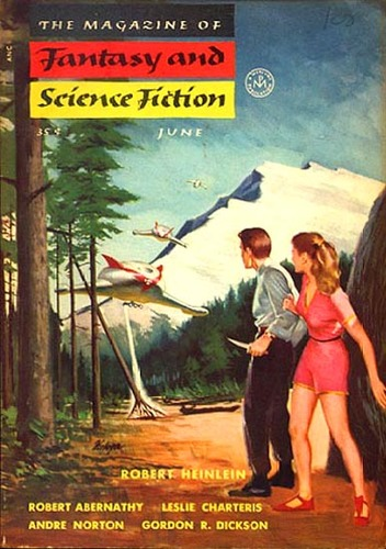 The Magazine of Fantasy and Science Fiction June 1954-small