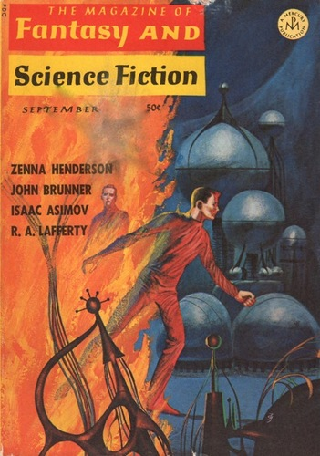 The Magazine of Fantasy and Science Fiction September 1966-small