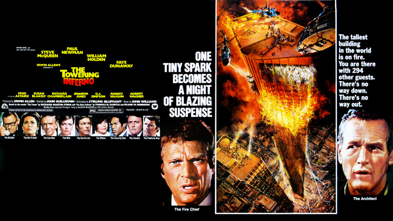 The Towering Inferno poster-small