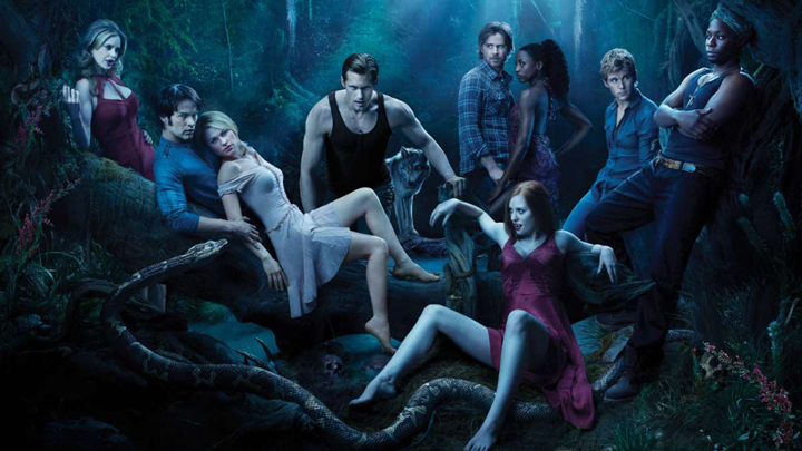 Cast photo of True Blood, courtesy of HBO