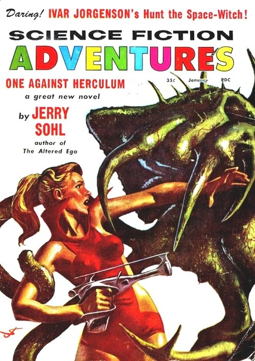 science fiction adventures 1958 Hunt the Space Witch-small