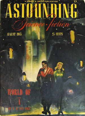 Astounding Science Fiction August 1945-small
