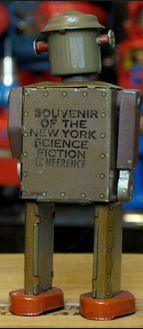 Atomic Robot Man souvenir of NY Wordcon alt