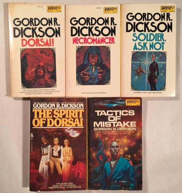 Dorsai series Gordon R Dickson-small