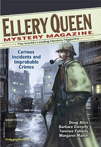 Ellery Queen Mystery Magazine January February 2018-rack