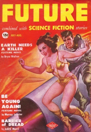 Cover by Earle K. Bergey