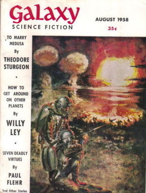 Galaxy Science Fiction August 1958-small