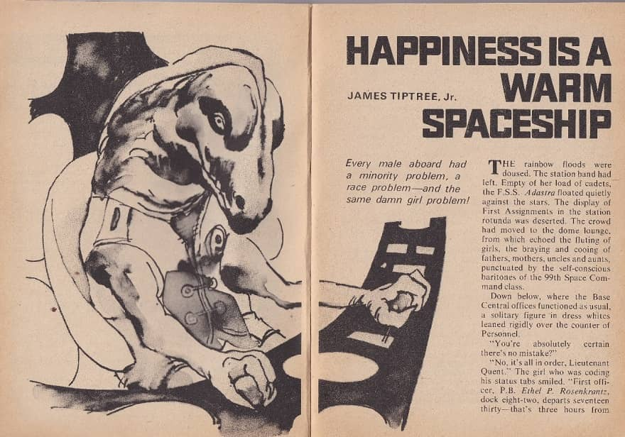 Happiness is a Warm Spaceship James Tiptree-small