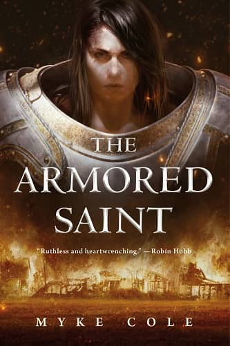 Myke Cole THE ARMORED SAINT-small