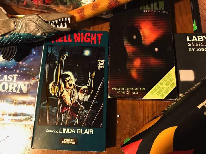 Nick Ozment's loot Hell Night Linda Blair-small
