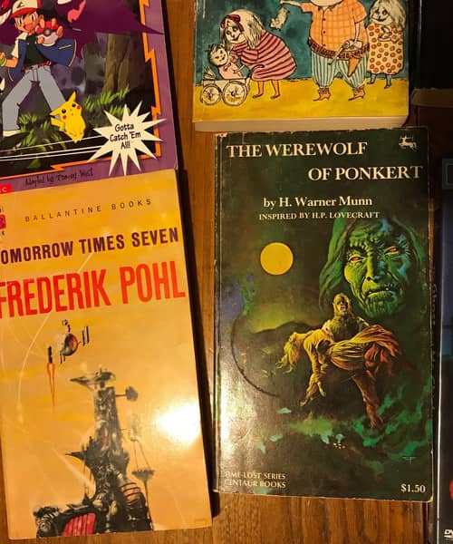 Nick Ozment's loot Werewolf of Ponkert-small