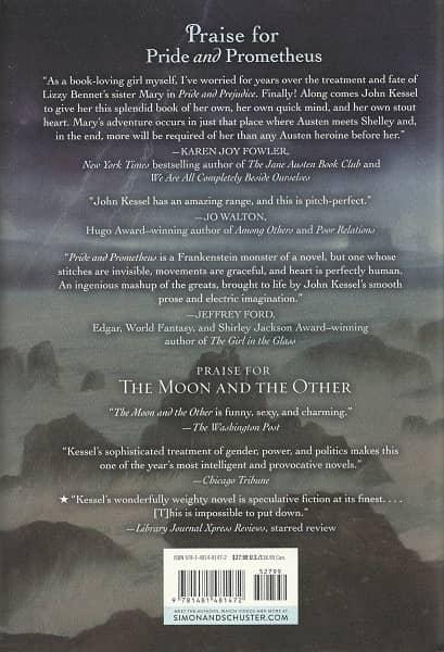 Pride and Prometheus John Kessel-back-small