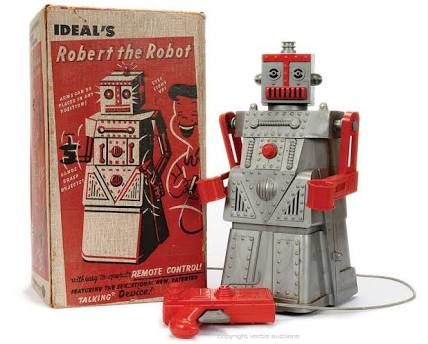 Robert the Robot from Ideal