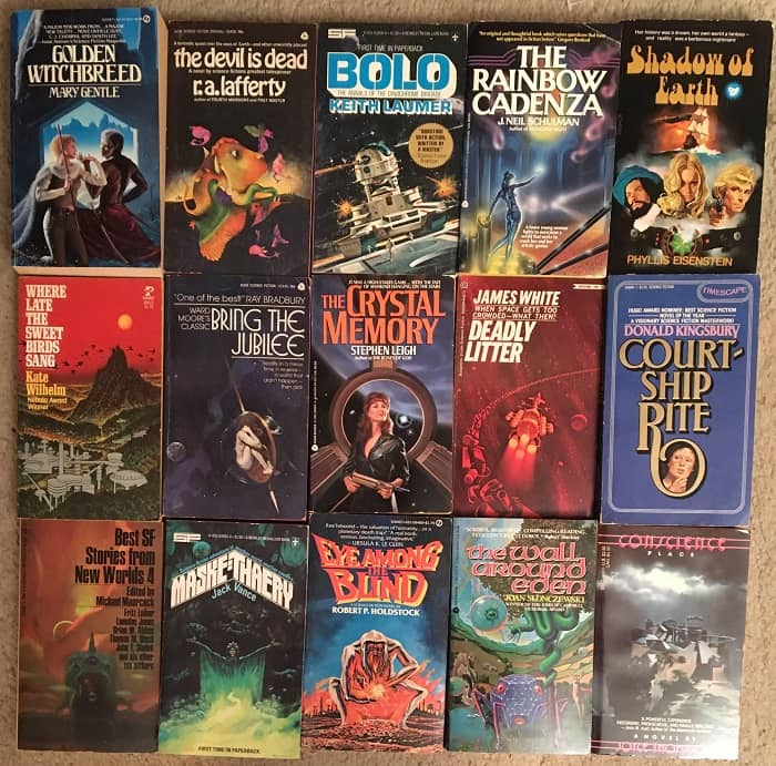 Science Fiction collection 65 novels 1970s-top-small