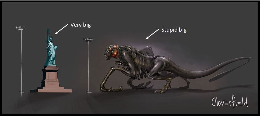 Stupid big bug-small