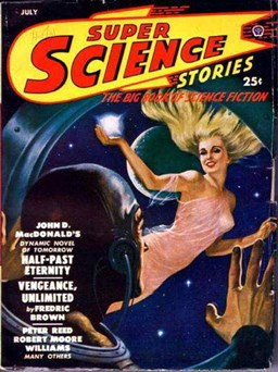 Super Science Stories July 1950