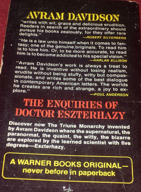 The Enquiries of Doctor Eszterhazy-back-small