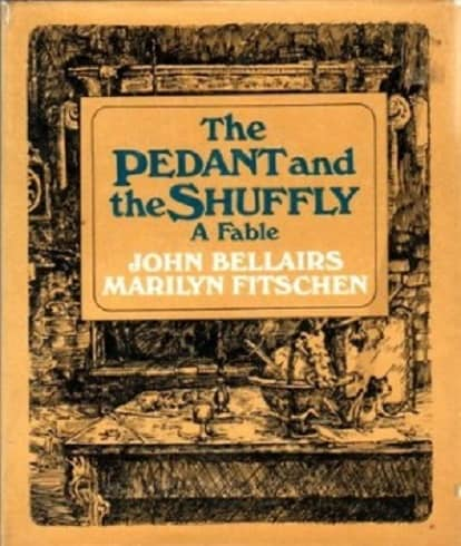 The Pedant and the Shuffly John Bellairs-small