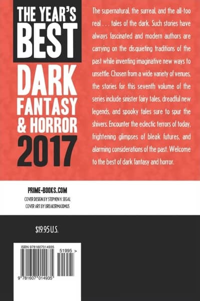 The Year's Best Dark Fantasy & Horror 2017-back-small
