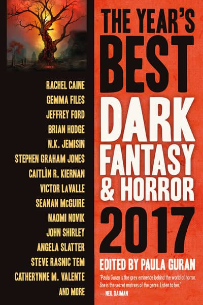 The Year's Best Dark Fantasy & Horror 2017-small