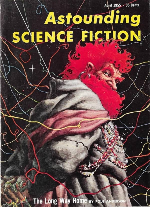 Astounding Science Fiction April 1955 The Long Way Home-small