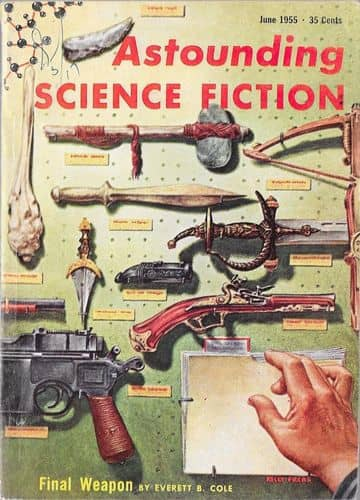 Astounding Science Fiction June 1955 The Long Way Home-small