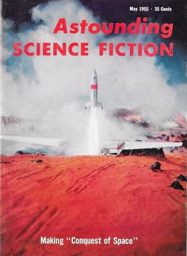 Astounding Science Fiction May 1955 The Long Way Home-small