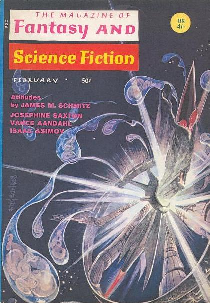 Fantasy and Science Fiction February 1969-small