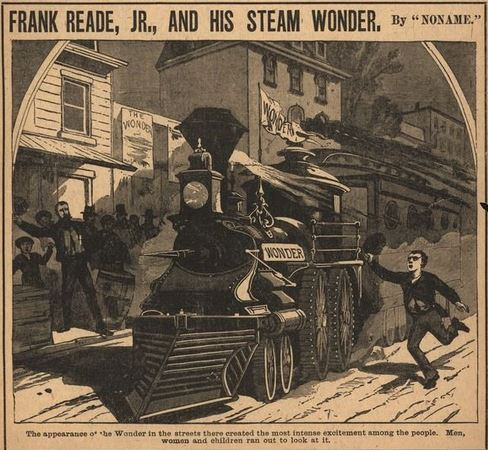 Frank Reade Jr. and His Steam Wonder