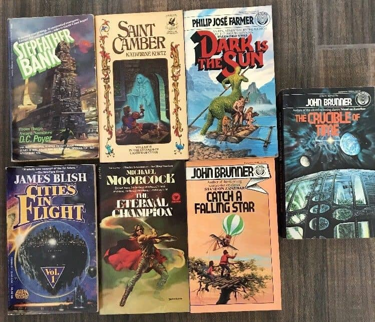Small paperback SF collection Black Gate 2