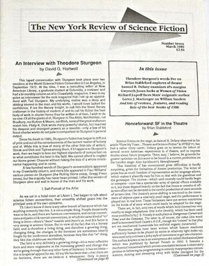 The New York Review of Science Fiction March 1989-small