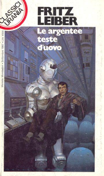 The Silver Eggheads, Classici Urania 126, 1987, cover by Vicente Segrelles