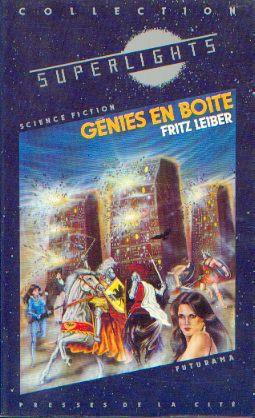 The Silver Eggheads, Presses de la Cité - Futurama Superlights, 1983, cover by Raymond Hermange