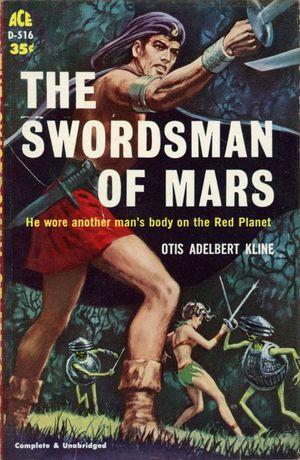 The Swordsman of Mars Otis Kline-small