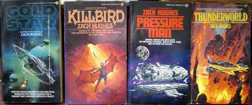 The novels of Zach Hughes-small