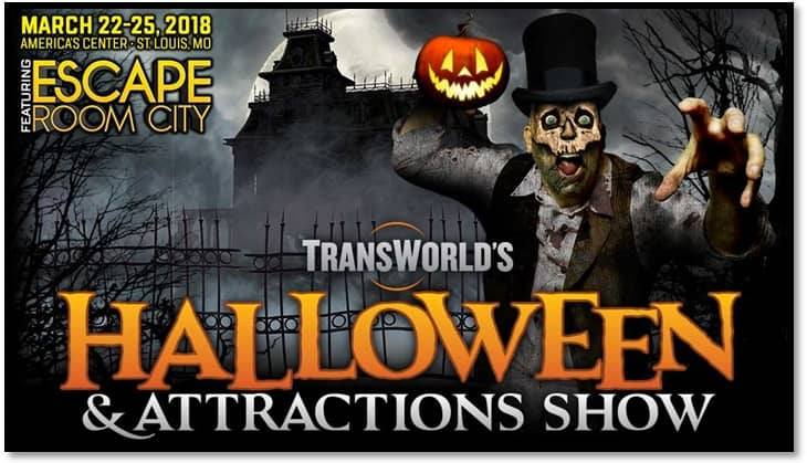 2018 Halloween and Attractions Show Goth Chick 1