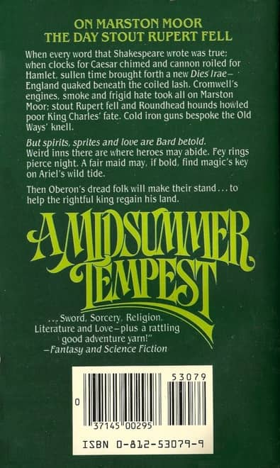 A Midsummer Tempest Poul Anderson-back-small