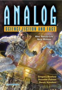 Analog Science Fiction March April 2018-rack