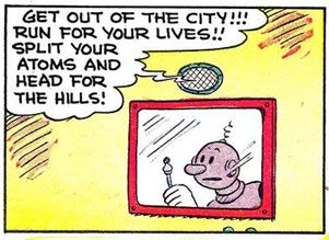 Axle and Cam on the Planet Meco Popeye #26 3 panel