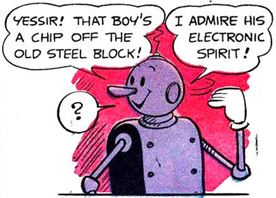 Axle and Cam on the Planet Meco Popeye #30 2 panel