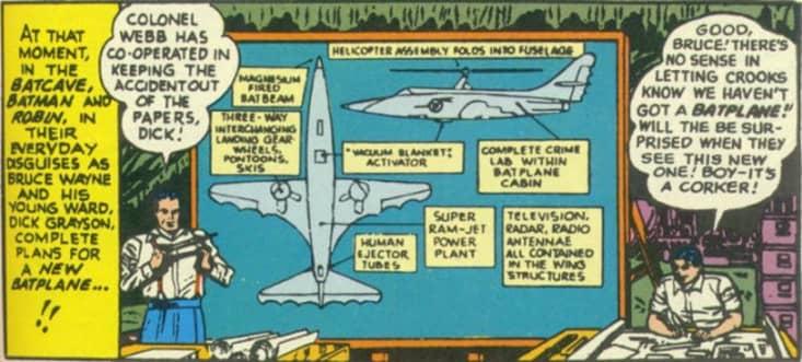 Batplane II Plans