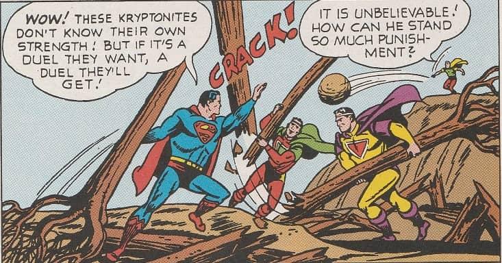 Battle of Supermen
