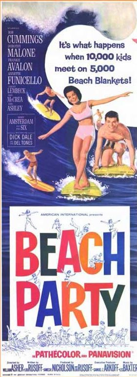 Beach Party poster2