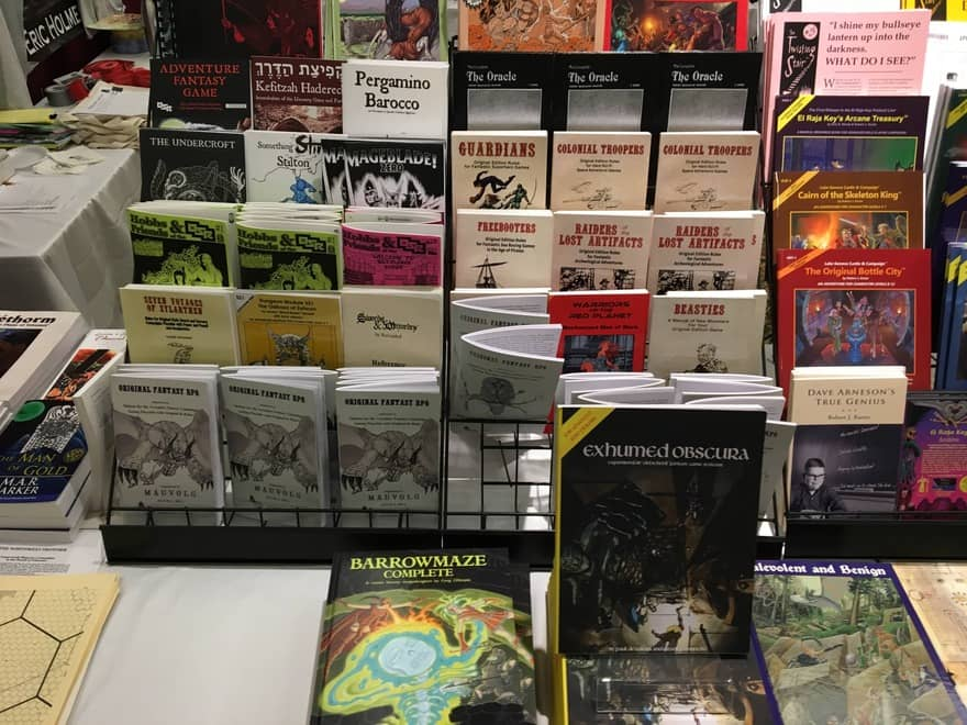 Black Blade Publishing at Gary Con 2018-small