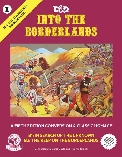 D&D Into the Borderlands