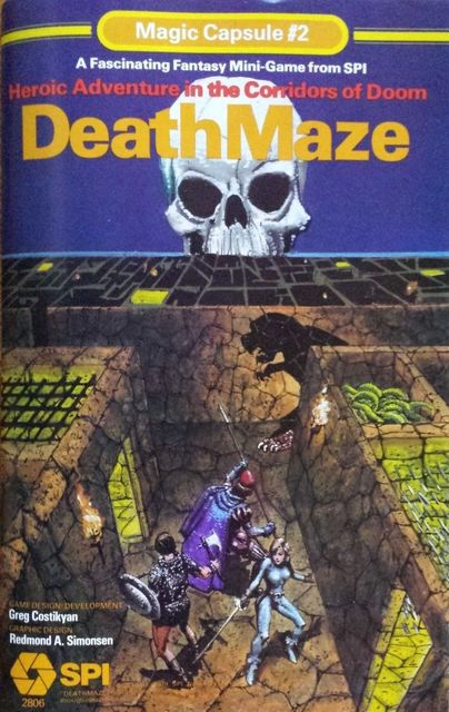Deathmaze Magic Capsule 2 SPI-small