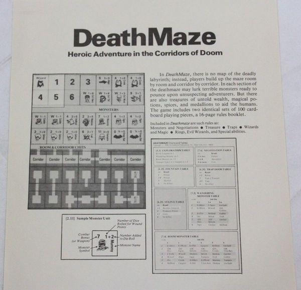 Deathmaze SPI box version-back-small