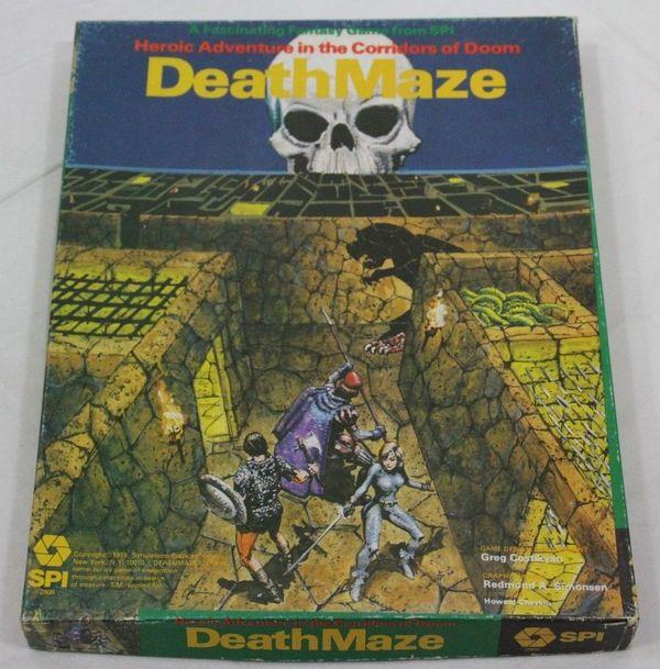 Deathmaze SPI box version-small