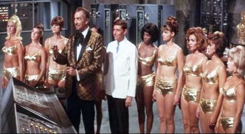 Dr. Goldfoot and the Bikini Machine girls
